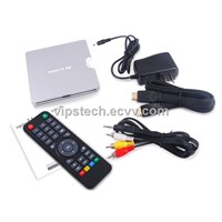 Slim Android TV box with Allwinner A20 main chip, 1080P max resolution