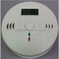 Smart stand alone carbon monoxide alarm with lcd display