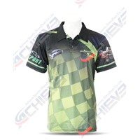 Sublimated Customed Garment Fashion Polo Shirts