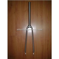 Titanium bicycle forks
