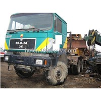 Used Man Actros Man Used Truck Head