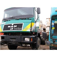 Used Actros Used Man Truck Head for Sale