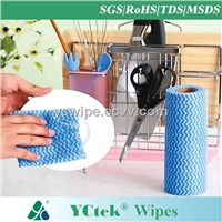 Viscose Polyester Spunlace Nonwoven Kitchen Cleaning Cloth