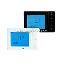 Wall Mounted Touch Screen LCD Programmable Underfloor Heating RS485 Room Thermostat BHT-200