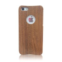 Wooden Wood Back Case Cover Skin for iPhone 5 / 5S