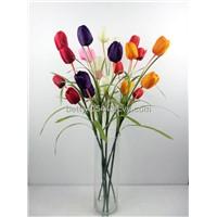 autumn tulips