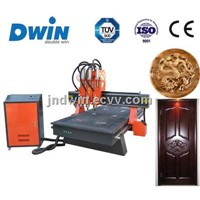 CNC Wood Machine with Pneumatic Tool Changer