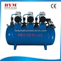 dental one for five silence oil-free air compressor