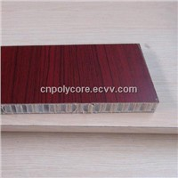 Honeycomb Composite Panel as Van Wall
