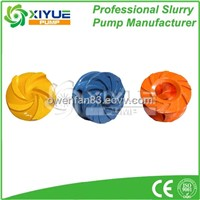 mining slurry pump impeller