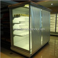 Night Cover for Open Refrigerated Display Case
