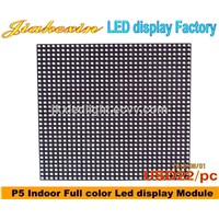 P5 RGB LED Display Board 5mm Pixel Full Color High Resolution Module Indoor