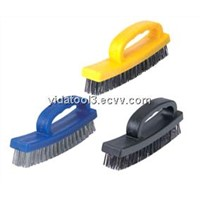 plastic bent handle wire brush