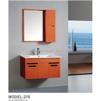 popular plywood bathroom cabinet Made in China Hangzhou model:278