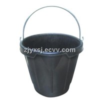 rubber bucket,Fiber-reiforced rubber pail