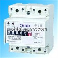 Single Phase 75mm DIN Rail Meter