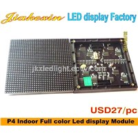 Slim Cabinet p4 Indoor Full Color LED Display Screen (Smd 3 in 1)