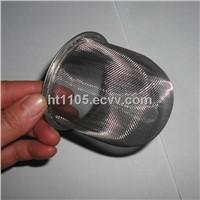 stainless steel wire mesh strainer tea strainer