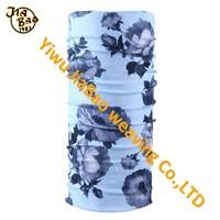 women flower print comfortable tube scarf
