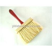wooden handle ceiling brush