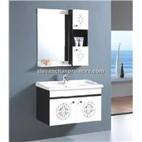 black & white bathroom vanity bathroom cabinet Made in China Hangzhou model:251