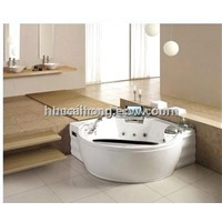 monalisa acrylic 2-3 person double loungs  indoor massage bathtub  hot tubs