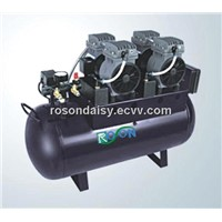 oil-free air compressor,silent air compressor,oilless air compressor,dental oilless air compressor