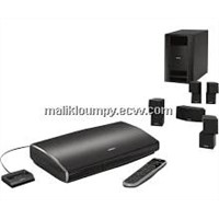 Lifestyle V35 Home theater system with iPhone / iPod cradle - Black