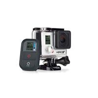 GoPro HD HERO 3+ Plus Black Edition 4K Camera CHDHX-302 Cam + LCD Touch Bacpac