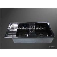 Absolute Black Granite Kitchen Sink LD-K022