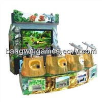 Hunting King Luxurious shooting game machine Redemption game machine