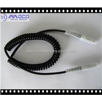Coil Cords / Spiral Electrical Control Cable / Lemo to Lemo High Speed Cables
