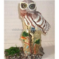 Home and Office Decoration Resinic Animal, Resin Owl