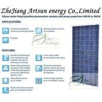Poly solar panel 280W-300W