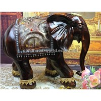 Resinic Decoration Artificial Full Size Mini Elephant Decoration
