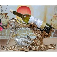 Resinic Craft Sea-Maid Wine Holder
