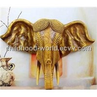 Resin Decoration Simulation Animal, Elephant Look