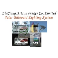 Solar Billboard Lighting System