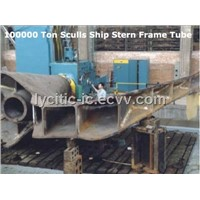 Steel 100,000 Ton Sculls Ship Stern Frame Tube