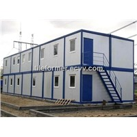 Africa Camp Sit Container House / Africa Container House