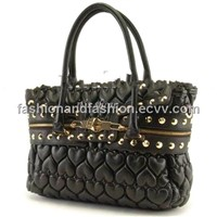 2012 Hot Sale Designer Fasion Quilted Handbag/ Tote Bag