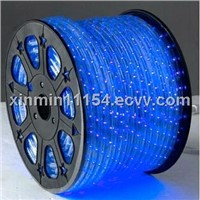 Blue Round 2 Wires Led Rope Light