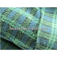 Jacquard Sherpa Fur Fabric