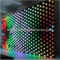 NEW SMD LEDS P9 3M*4M LED Vision Curtain, LED Video Cloth for Wedding,Event Party