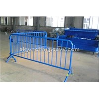 Site Fence Crowds Stopper,Crowd Guard,V-Foot Bar Barrier,Pedestrian Barrier
