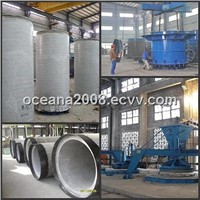 Vertical Vibration Casting Pipe Machine for Small Concrete Pipes and Manholes
