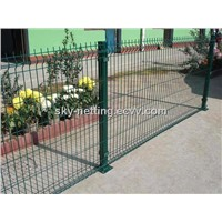 3D Hot Dip Galvanised Polyster Welded Panel Fencing