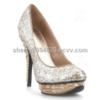 2013 new style high heel ladies dress shoes HS13-039-1