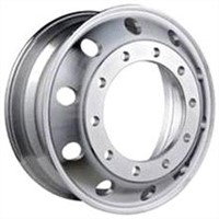 22.5x8.25 Truck/Trailer/Bus Aluminum Wheel with Lighter Weight, Policing
