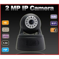 2.0 Megapixel P2P Wifi Mini IP Camera